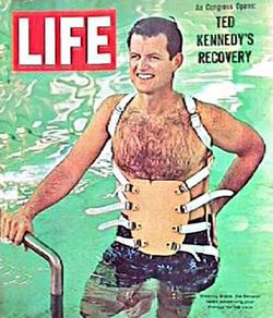 Ted kennedy life magazine