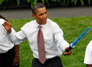 Obama and a sword main