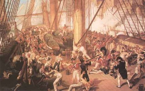 B_battle_of_trafalgar_Fall_of_nelson