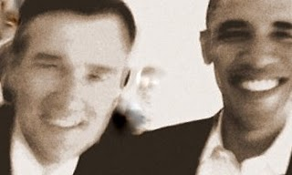 Obama and Dad Poster 2008