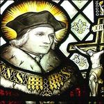 St. Thomas More Stained Glass Window