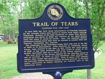 Cherokee_Heritage_Center_-_Trail_of_Tears_Schild_2