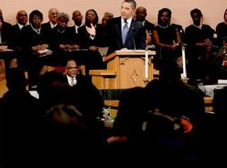 Obama2011-pulpit-of-black-church-med-wide